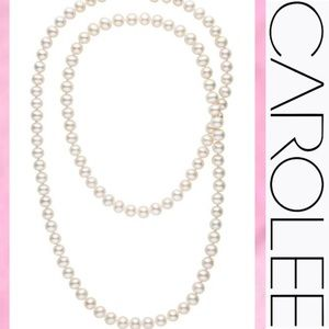 "CAROLEE Pearl 35"" Necklace"